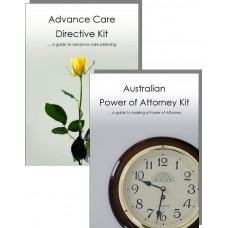 Advance Care Directive Kit & Power of Attorney Kit for one person