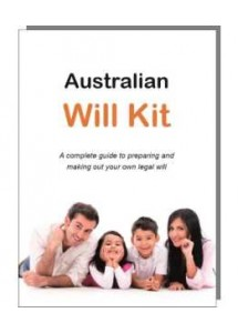The Australian Will Kit - for one person