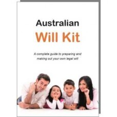 The Australian Will Kit - two person pack ($14.95 p.p.)
