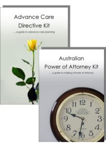 Advance Care Directive Kit & Power of Attorney Kit for two people