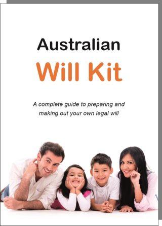 The Australian Will Kit cover