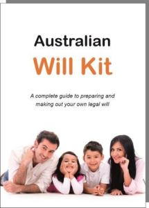 Australian Will Kit cover - click here to view products